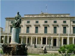Korfu - Szent György palota